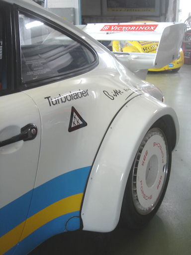 Sportwageneinlagerung am Hockenheimring