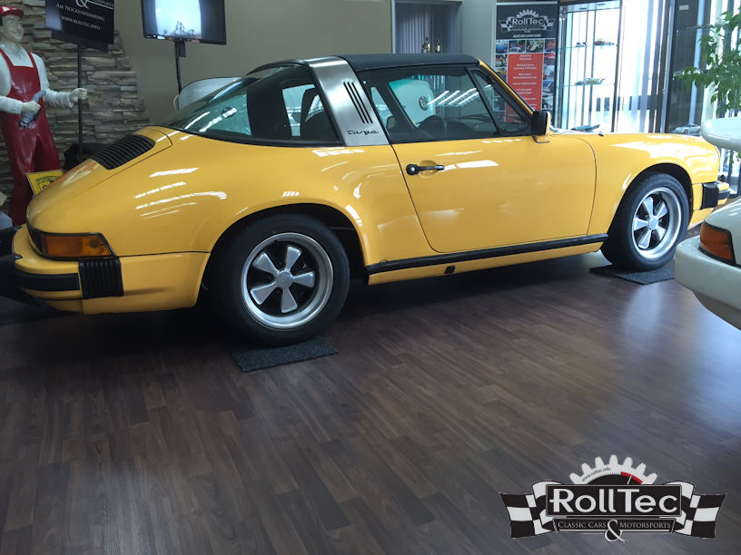 Porsche 911 Targa Restauration 2